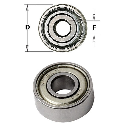 CMT Orange Tools Bearing 1/2 x 1/4 x 4.8mm 791.010.00
