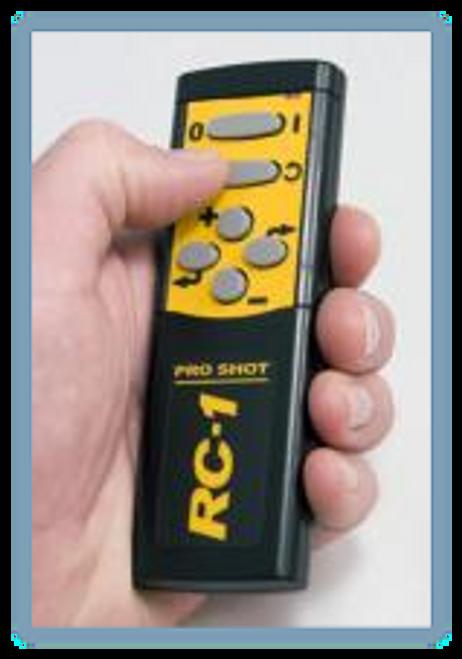 Pro Shot Laser RC1 Remote Control 051-1000. Pro shot repair, pro shot laser parts