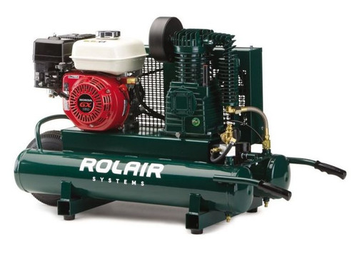 Rolair 5.5 HP 9 Gallon Gas Air Compressor 4090HK17