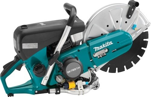 Makita is proud to announce the launch of the worlds first four stroke power cutter. The EK7651H solves a tremendous amount of user pains and will forever change the way we think about concrete power cutters. The number one failure in two stroke saws is improper mixing. NO more worries, NO more mixing, NO more damaged saws due to lack of mixing or not mixing at all. This is a true one can on the truck approach. The industry has been waiting for this technology for a very long time. Needless to say there has been a tremendous amount of buzz since the EK7651H made it's first appearance at the World Of Concrete in Las Vegas.     The EK7651H is available for pre sale today 09/16/13. These units are scheduled to ship from Makita October 14, 2013. Please see attached promotion for this item. The EK7651H qualifies as part of the Trade Solutions promotion. If purchased in a quantity of six, you will receive a very attractive metal free standing merchandiser. This merchandiser will hold up to four saws and prominently promotes the Worlds First Four stroke technology.     Please call me if you have any questions.   Here are a few important specs for the EK7651H: - 9,350 RPM - 4.1 HP - 37 oz fuel capacity                                                                                - Fuel type = Unleaded - Retractable wheel kit - automatic decompression valve - Three ring piston - 106.5 db(a) makita power tools