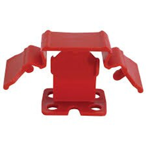 """Tuscan Truspace Red SeamClip 1/32"""" Tile Spacer for 3/8"""" to less than 1/2"""" Tile 150 ct Box TSC150R"""