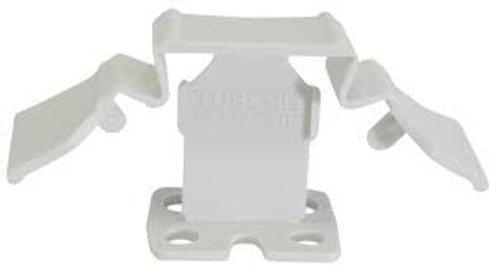 "Tuscan White SeamClip 1/32"" Tile Spacer for 1/8"" to less than 1/4"" Tile 150 ct Box TSC150W"