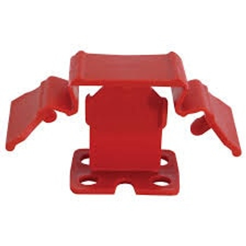 """Tuscan Truspace Red SeamClip 1/32"""" Tile Spacer for 3/8"""" to less than 1/2"""" Tile 500 ct Box TSC500R"""