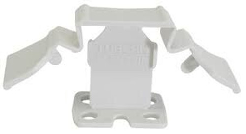 """Tuscan White SeamClip 1/32"""" Tile Spacer for 1/8"""" to less than 1/4"""" Tile 500 ct Box TSC500W"""