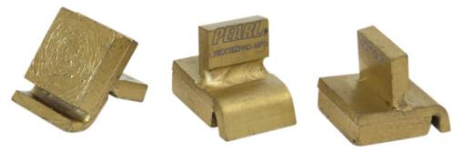 Pearl Abrasive 15 inch Hexplate w/ Super Clutch and 12 Scrape & Grind Pins HEX1712SGCLT