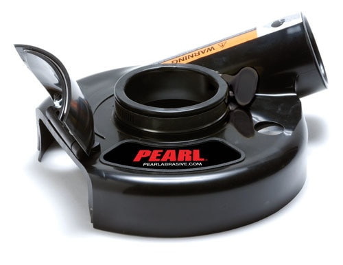 "Pearl Abrasive 7"" Vacu-Guard™ Hinged Dust Shroud"