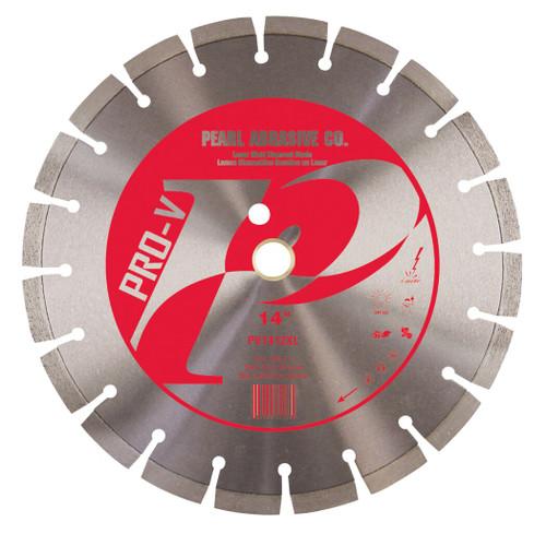 Pearl Abrasive P2 Pro-V Segmented Diamond Blade for Concrete and Masonry 14 x .125 x 1, 20mm PV1412XL