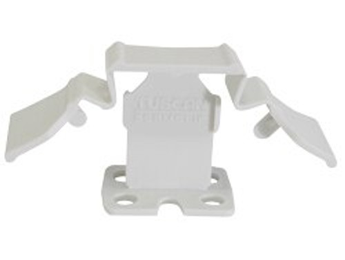"""Tuscan White SeamClip 1/32"""" Tile Spacer for 1/8"""" to less than 1/4"""" Tile 1000 ct Box TSC1000W"""