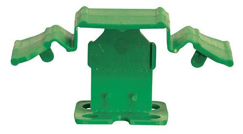 """Tuscan Truspace Green SeamClip 1/8"""" Tile Spacer for 3/8"""" to less than 1/2"""" Tile 150 ct Box TSC15018G"""