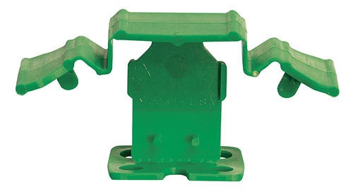 "Tuscan Truspace Green SeamClip 1/8"" Tile Spacer for 3/8"" to less than 1/2"" Tile 1000 ct Box TSC100018G"