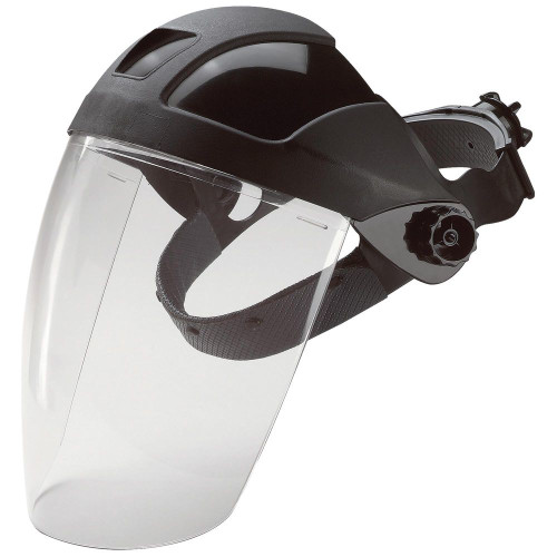 E12 Series Deluxe Face Shield w/ Ratchet Strap 15160