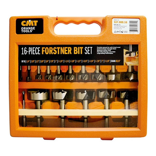 CMT 16 piece Forstner Bit Set 537.000.16