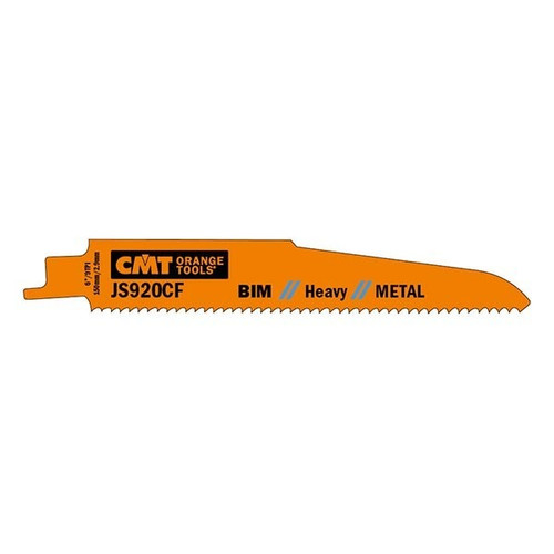 CMT Bi-Metal Heavy Duty Metal Cutting Reciprocating Saw Blade