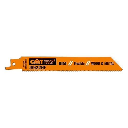 CMT Bi-Metal Flexible Wood & Metal Cutting Reciprocating Saw Blade