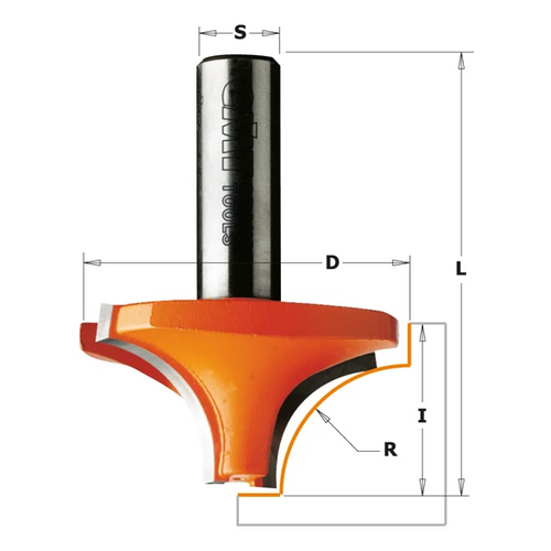 CMT Ovolo Router Bit