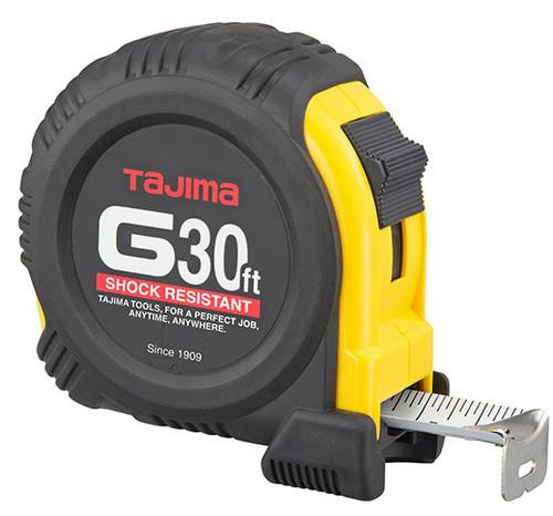 Tajima G-Series Shock Resistant Coated Steel Blade Tape Measure