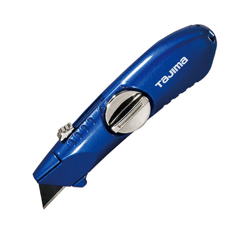 Tajima VR Series Retactable Blade Hinged Blue Utility Knife