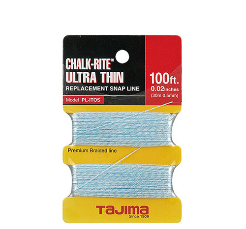 Tajima Chalk-Rite® Braided Replacement Snap Line 100'