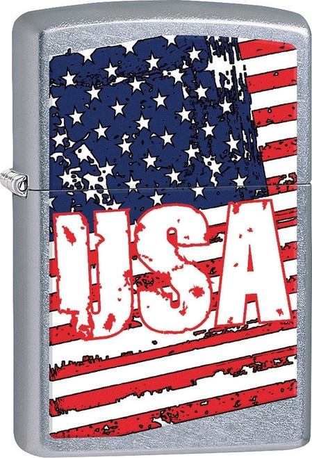 Zippo USA American Flag Lighter