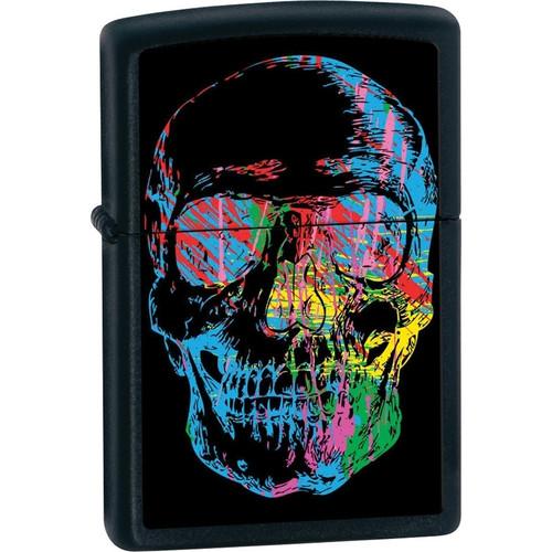 Zippo Graffiti Skull Lighter