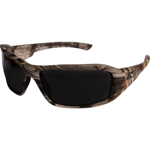 Brazeau Forest Camo Frame/Polarized Smoke Lens Safety Glasses
