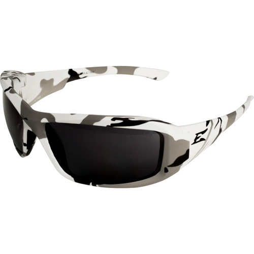 Brazeau Arctic Camo Frame/Smoke Lens Safety Glasses