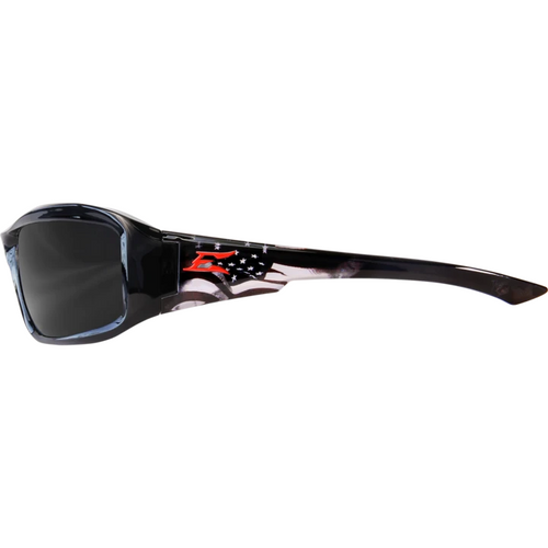 Brazeau Patriot 1 Black Frame/Polarized Smoke Lens Safety Glasses