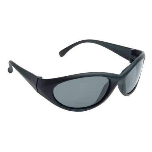 Cobalt Black Frame/Polarized Smoke Lens Safety Glasses