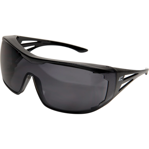 Ossa Black Frame/Smoke Lens Over the Glass Safety Glasses