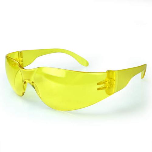 Mirage Amber Frame/Amber Lens Safety Glasses