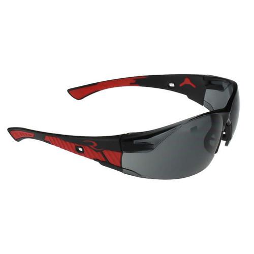 Obliterator Black Frame/Smoke Lens Safety Glasses