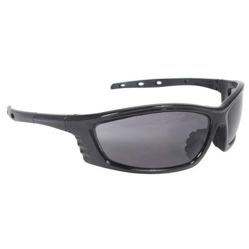 Chaos Black Frame/Smoke Lens Safety Glasses