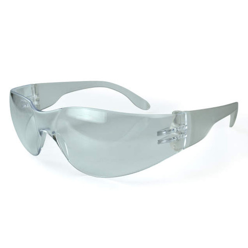 Mirage Clear Frame/Clear Lens Safety Glasses