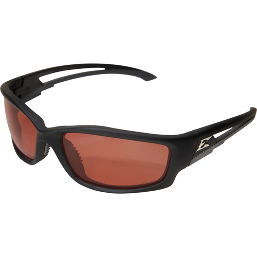 Kazbek Black Frame/Polarized Copper Lens Safety Glasses