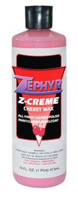 Zephyr Pro-32 Z-Creme Cherry Wax 16 oz Bottle