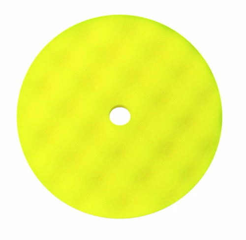 Buff and Shine Yellow Convoluted Face Foam Grip Pad™
