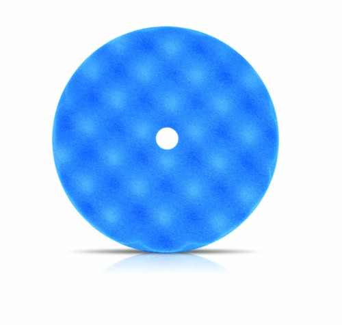 Buff and Shine Blue Convoluted Face Foam Grip Pad™
