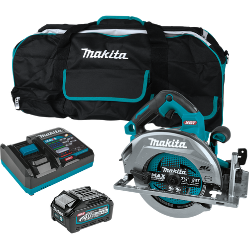 "Makita 40V max XGT® Brushless Cordless 7‑1/4"" Circular Saw Kit, AWS® Capable, (4.0Ah)"