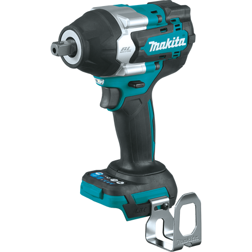 """Makita 18V LXT® Li‑Ion Brushless Cordless 4‑Speed Mid‑Torque 1/2"""" Sq. Drive Impact Wrench w/ Detent Anvil, Tool Only"""