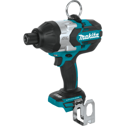 """Makita 18V LXT® Li‑Ion Brushless Cordless High‑Torque 7/16"""" Hex Impact Wrench, Tool Only"""