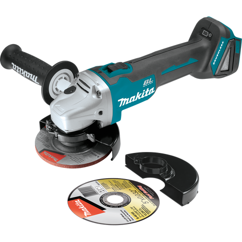 """Makita 18V LXT® Li‑Ion Brushless Cordless 4‑1/2"""" / 5"""" Cut‑Off/Angle Grinder, Tool Only"""