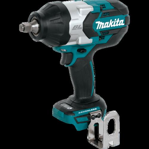 "Makita 18V LXT® Li‑Ion Brushless Cordless High‑Torque 1/2"" Sq. Drive Impact Wrench, Tool Only"