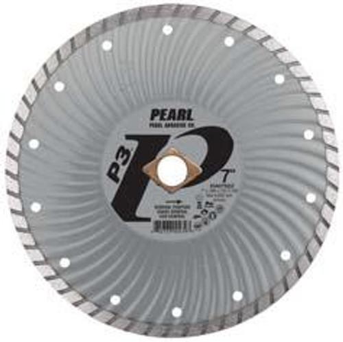 Pearl Abrasive P3 Waved Core Diamond Turbo Blade 7 x .080 x 7/8, DIA, 5/8 DIA07SDZ