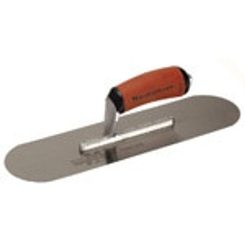 "Marshalltown 20 X 5"" High Carbon Steel Pool Trowel w/Curved Durasoft Handle 13121"