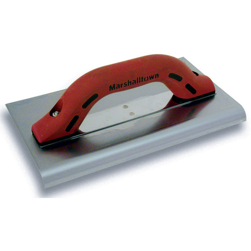 "Marshalltown 10 X 6 Big I SS Edger-3/4"" Radius, 1"" Lip with DuraSoft® Handle 14206"