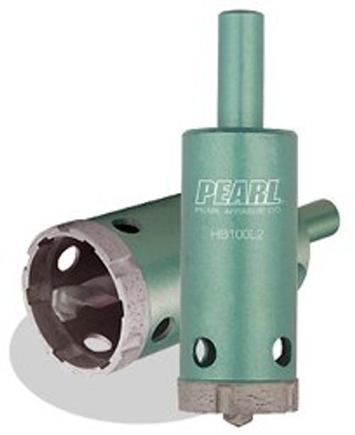 "Pearl Abrasive 1-3/8"" P4 Tile & Marble Dry Core Bit HB138L2"