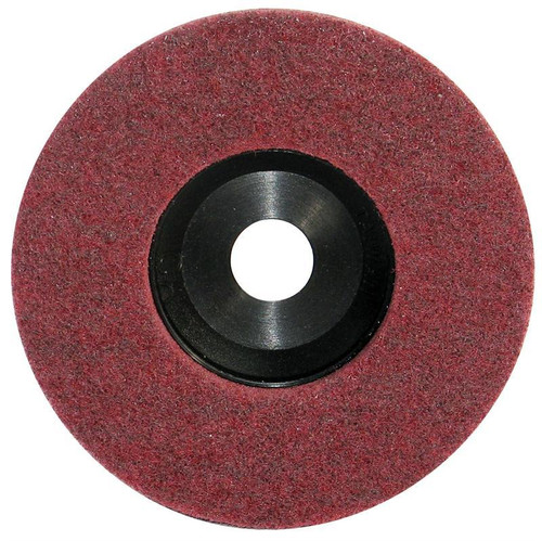 Pearl Abrasive Surface Preparation Wheel 4 1/2 x 7/8 Maroon Fine Grit 10 Count Box NW45MF