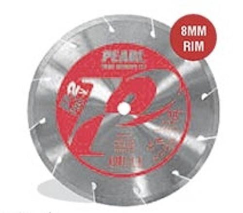 Pearl Abrasive P2 Pro-V Segmented Diamond Blade for Porcelain 8 x .060 x 5/8 PV08PT