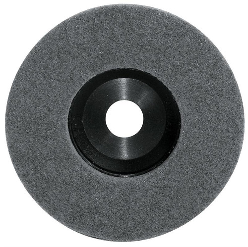 Pearl Abrasive Surface Preparation Wheel 4 1/2 x 5/8-11 Grey Super Fine Grit 10 Count Box NW45GSFH