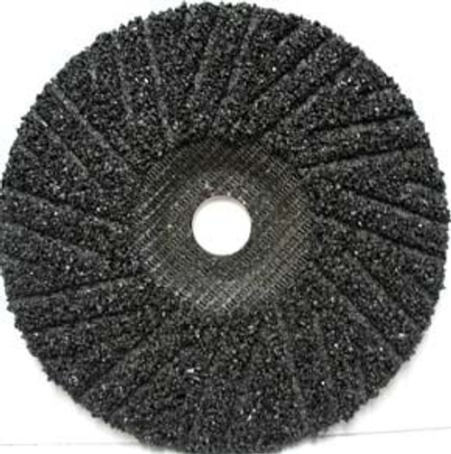 Pearl Abrasive T-27 Surface Preparation Hard Back Turbo Cut Disc C16, C24 or C36 Grit 25ct Case 4 1/2 x 7/8 HSP4516